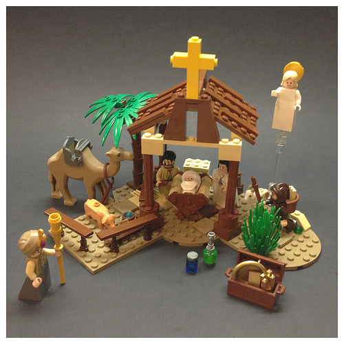 moc of the week lego nativity scene brickextra. Black Bedroom Furniture Sets. Home Design Ideas