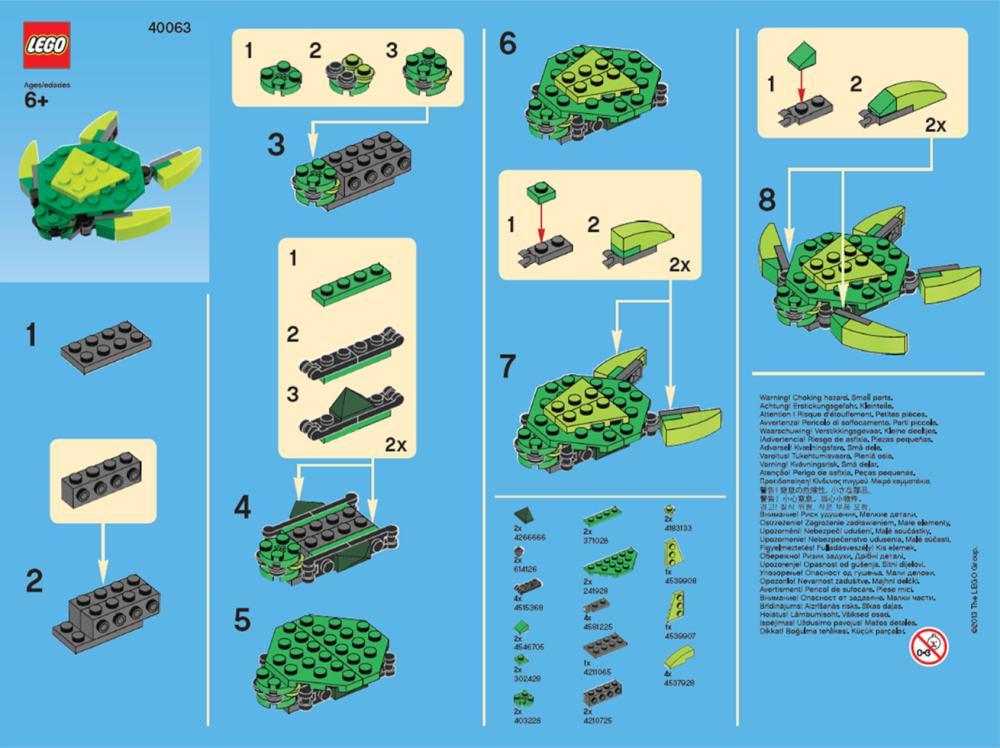 Lego Monthly Mini Model Build March 2013 Brickextra