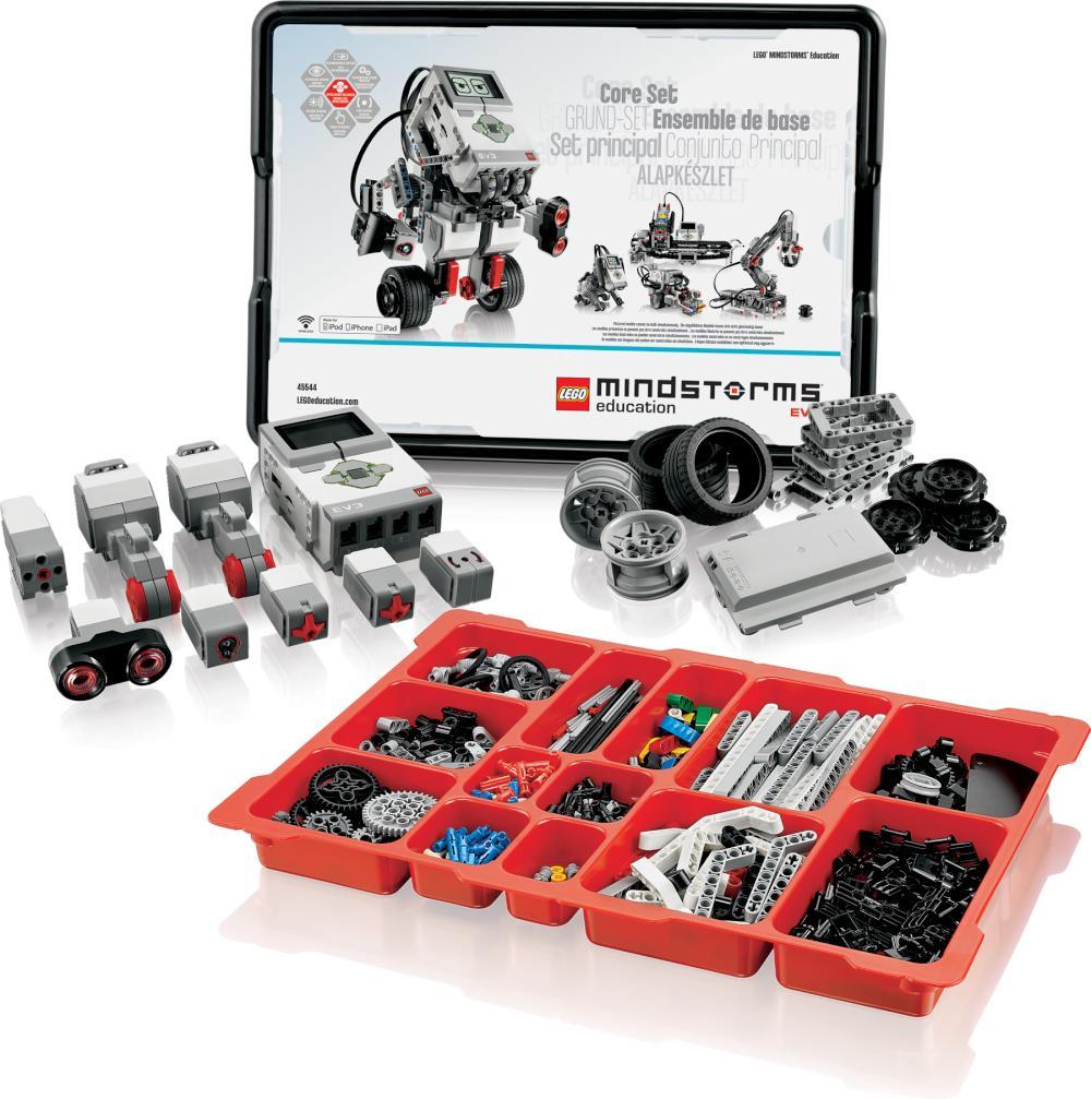 знакомство с оборудованием курса набор lego mindstorms ev3 education
