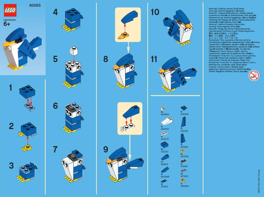 lego instruction booklets online free
