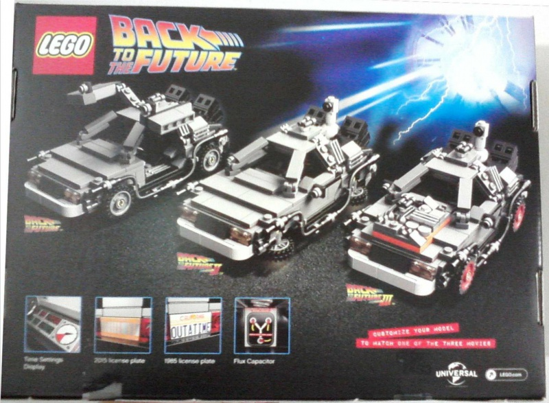 Lego Bttf Delorean Time Machine Official Images Brickextra