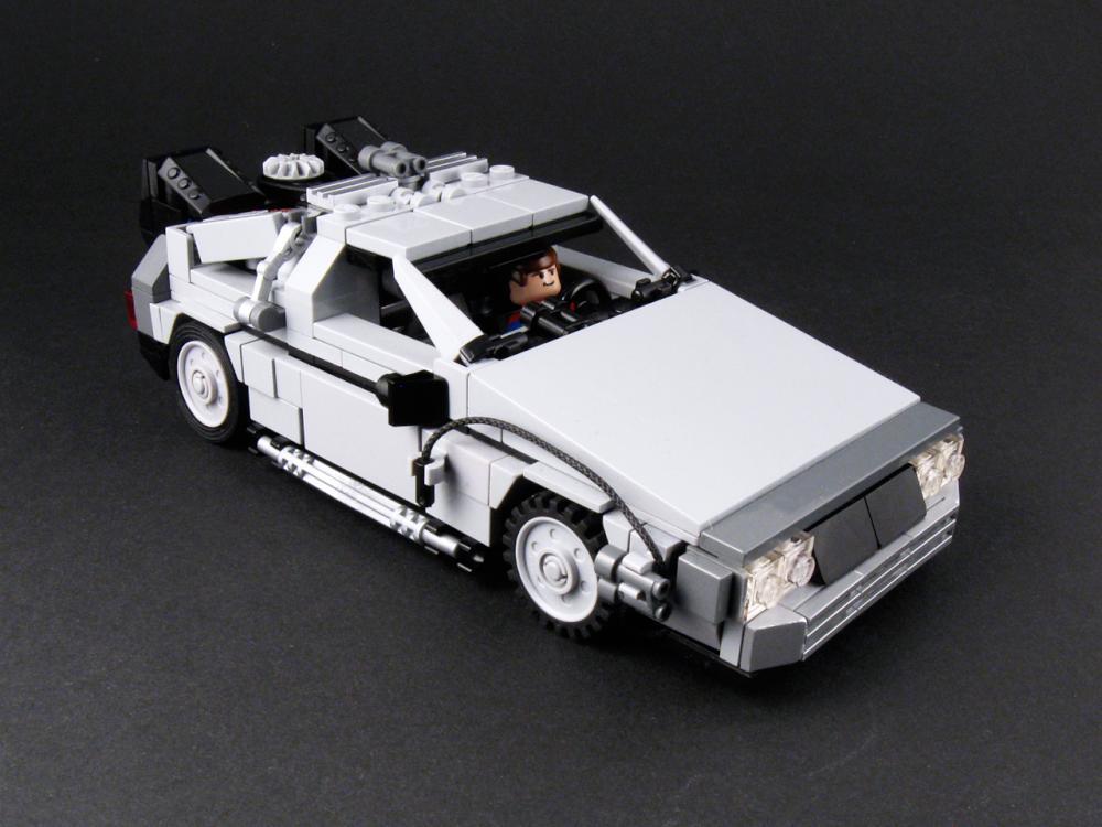 Moc Of The Week Lego Bttf Delorean Brickextra