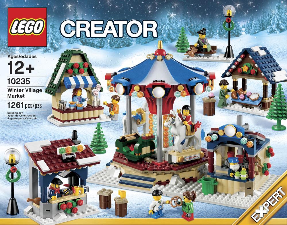lego creator expert 10235 winter village market revealed. Black Bedroom Furniture Sets. Home Design Ideas