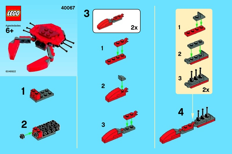 Directions For Lego Mini Builds