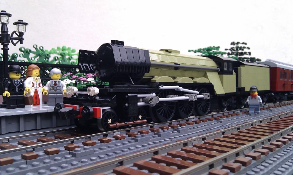 Lego Steam Train Lego Steam Train by Pinioncorp