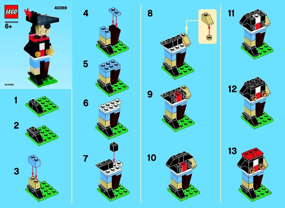 Lego Monthly Mini Model Build September 2013 Brickextra