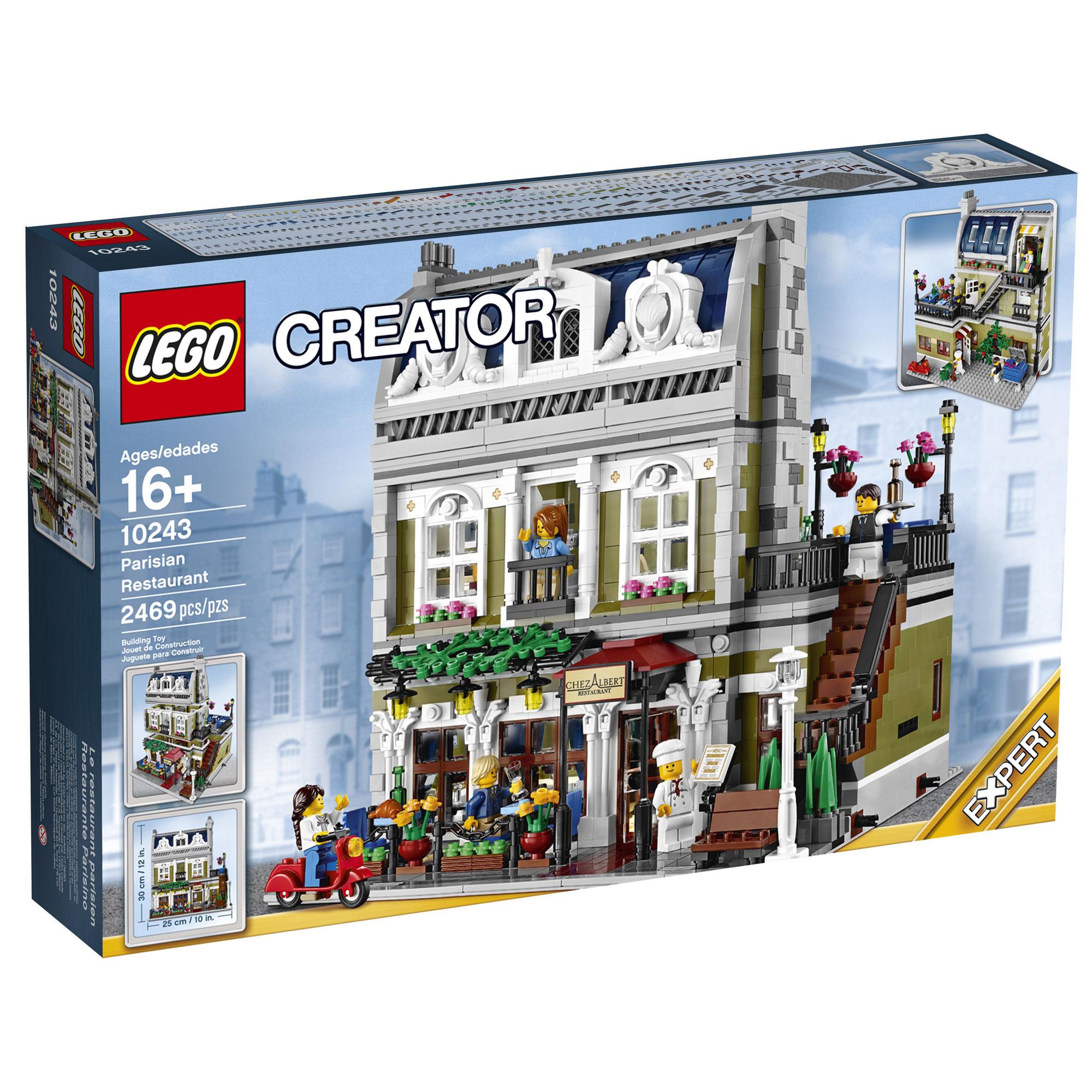 lego creator expert 10243 parisian restaurant brickextra. Black Bedroom Furniture Sets. Home Design Ideas