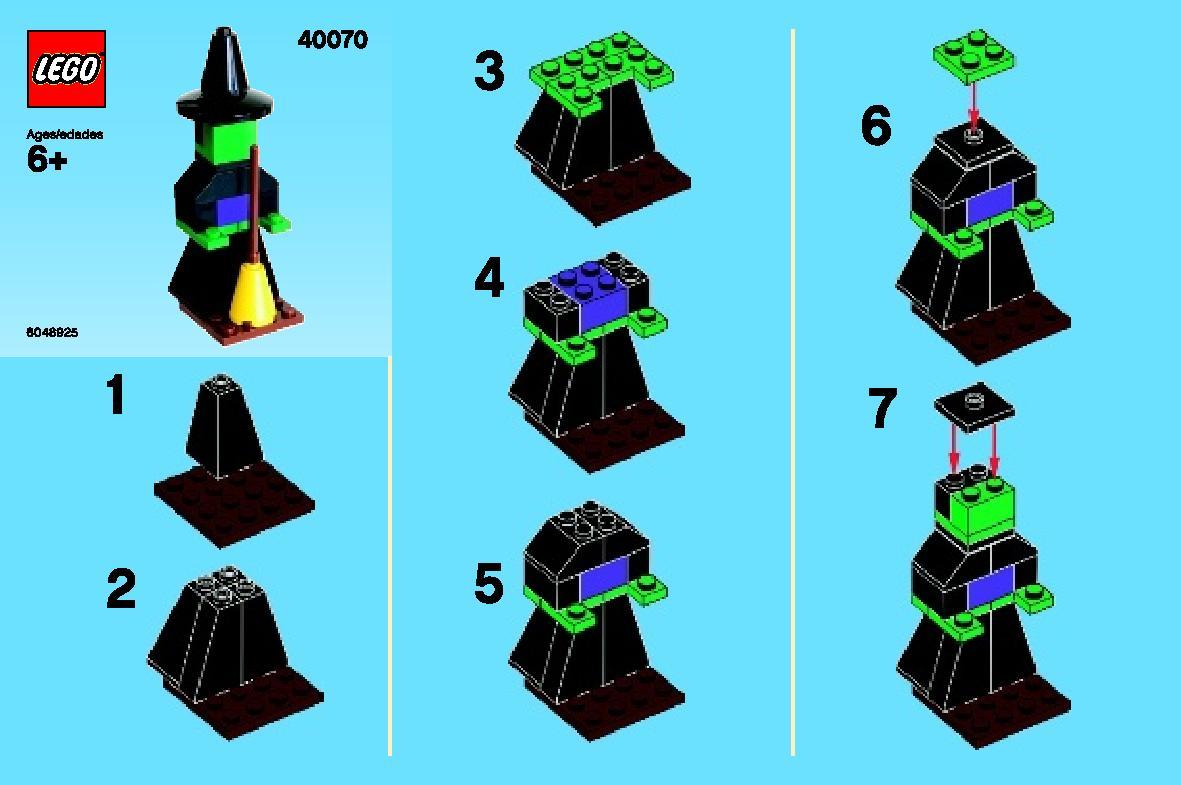 Lego Monthly Mini Model Build October 2013 Brickextra