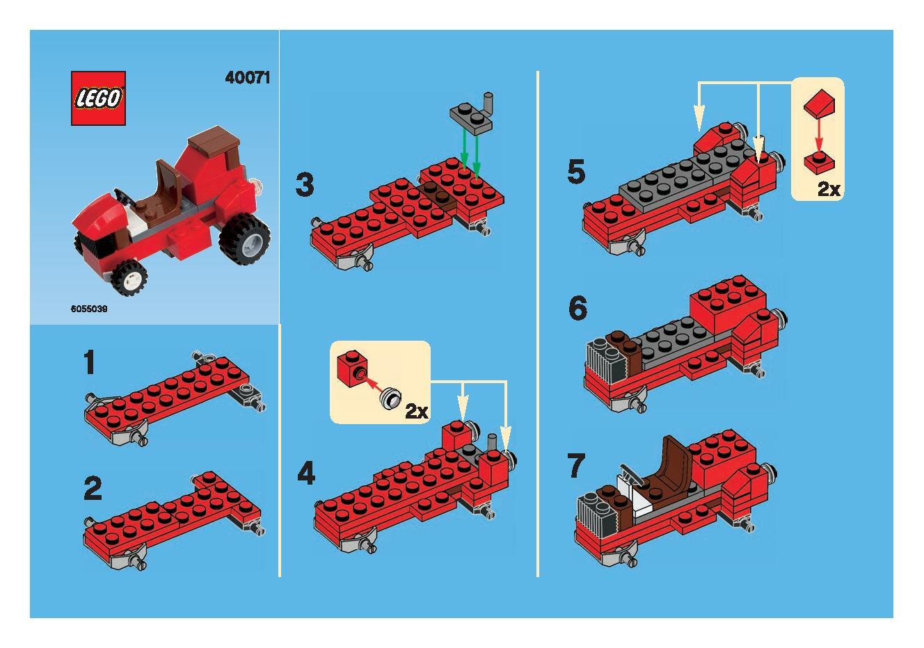 Lego Monthly Mini Model Build November 2013 Brickextra
