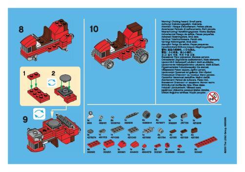 lego mini build instructions