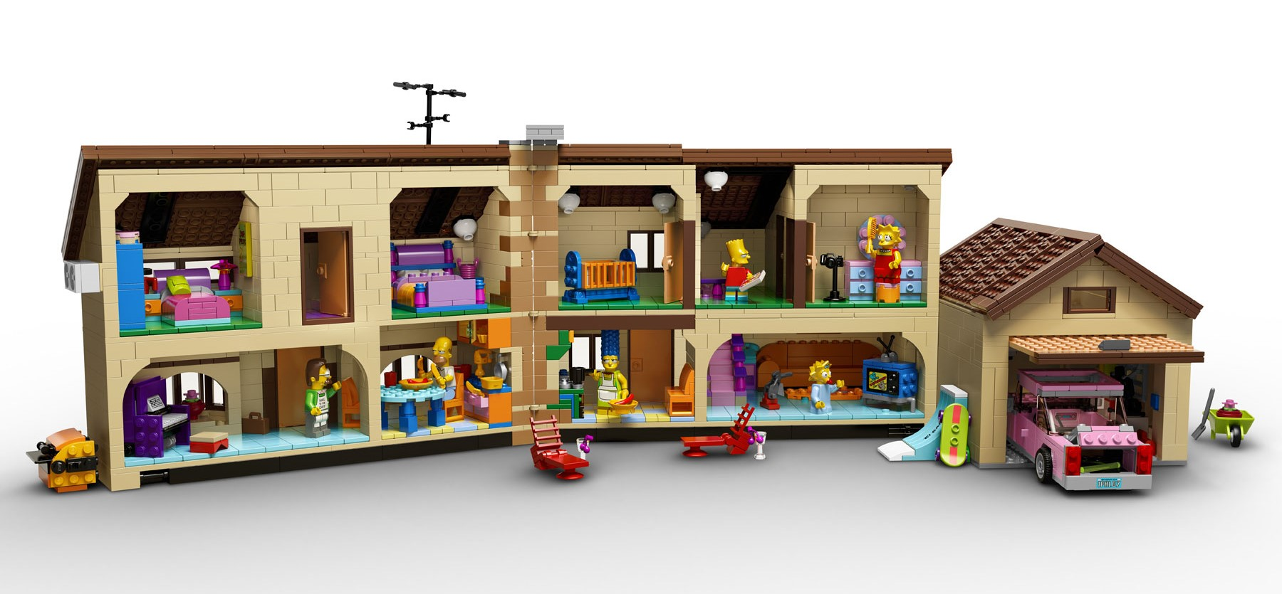 LEGO 71006 The Simpsons House 2